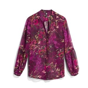 Kut From The Kloth Purple Hals Blouse